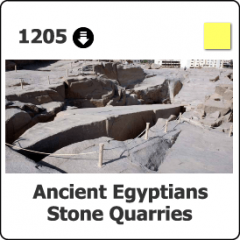 1205 Ancient Egyptian Stone Quarries