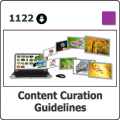 1122 Content Curation Guidelines & Strategies