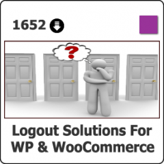 1652 Logout Solutions for WP & WC