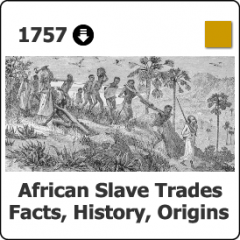 1757 African Slave Trades